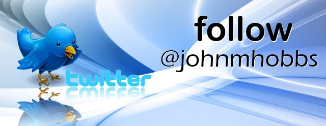 Follow @johnmhobbs on Twitter…