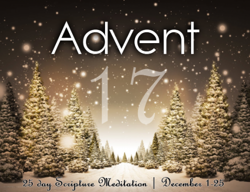 A25: Advent Meditation – Day 17
