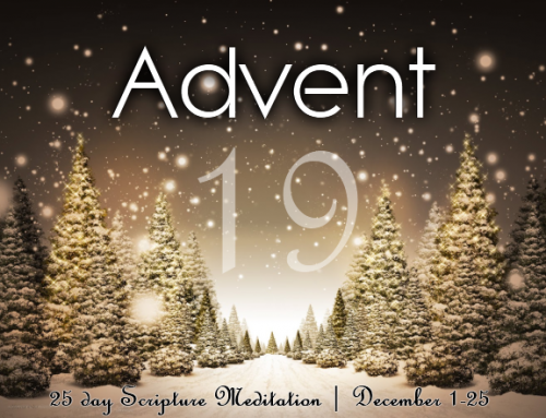 A25: Advent Meditation – Day 19